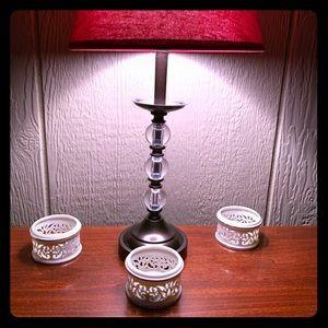 Lennox tea light holders